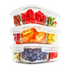 Glass Meal Prep Containers Iso...