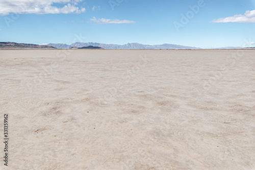 Photo Amargosa Flat Dry Lake Bed is a barren alkali playa outside Crystal, Nye County, Nevada