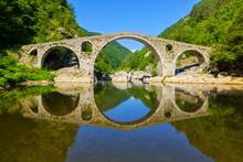 Devil's Bridge Over Arda River...