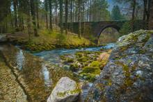 Stone Bridge At The River Spri...