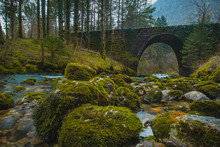 Stone Bridge At The River Spri...