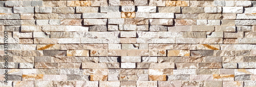 Fototapeta wall of old bricks obraz