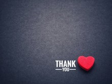 The Words Thank You And The Re...