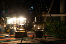 Ancient Hurricane Lamp Which I...