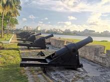 Historical Canons In Havana, C...