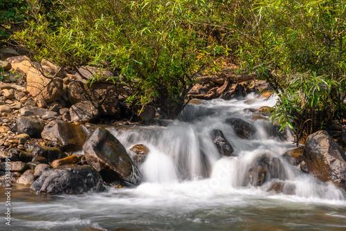 Palpala River near lulung, Similipal National Park,Orissa. Fototapet