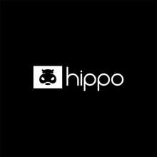 2. Hippo Cute Logo