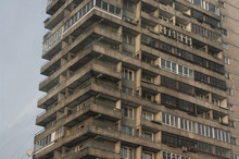 High-rise Building Of The Sovi...