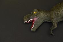 Rubber Model Of A Tyrannosauru...