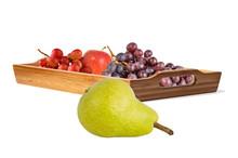Yellow Pear, Ripe Juicy Grape ...
