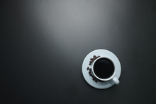 Coffee Cup With Coffee Beans O...