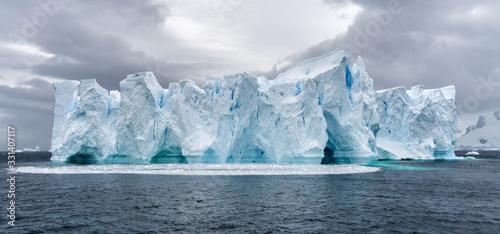 Fototapeta Iceberg in Antarctica sea. Port Lockroy.