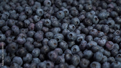 Tela Fresh blueberries, fruit background delicious tasty barry lay on the ground
