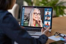Business Team In Video Confere...