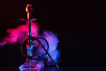 Glass Hookah Shisha With A Met...