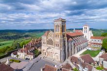 Aerial View Of Vezelay, UNESCO...