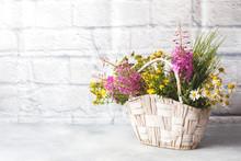 Bouquet Of Beautiful Wildflowe...