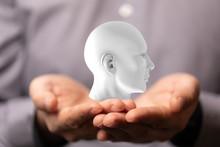 Human Head, Chakra Power, Insp...