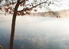Misty Morning, Lake DeSoto, Ar...