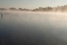 Misty Morning, Lake DeSoto, Ar...