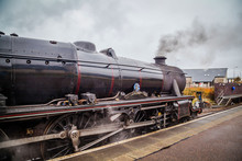 Old Scottish Steam Train And L...