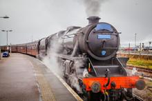Old Scottish Steam Train And L...