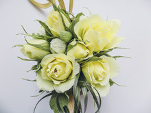 Corrugated Crepe Paper Flowers...