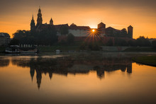 Panorama Of Cracow, Poland, Wi...