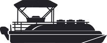Pontoon Boat Eps File / Boat E...