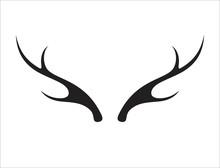 Deer Antler Ilustration Logo V...