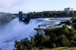 View point to the Niagara Falls from USA side