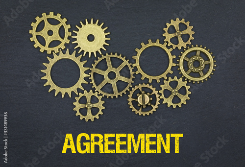 Agreement Wallpaper Mural