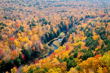 View Of The Carp River Valley ...