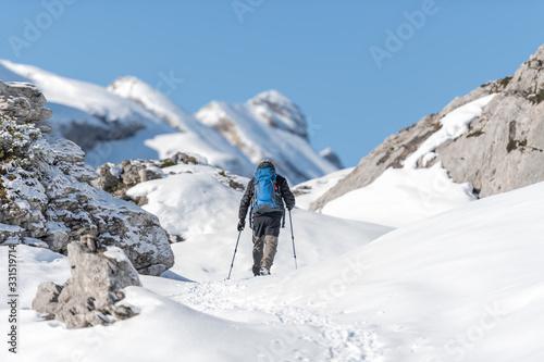 Photo Trekking con raquetas de nieve