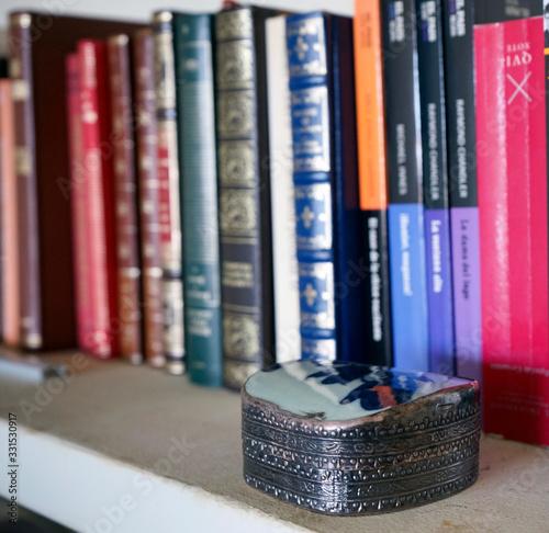 Libros y librerias Fototapet