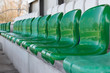 Leere Sitze im Sportstadion 1