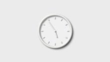 3d Wall Clock Icon,Clock Icon,White Wall Clock Icon