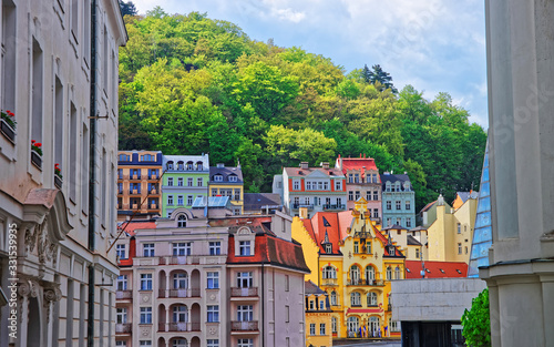 Fotografía Street and building architecture of Karlovy Vary
