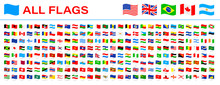 All World Flags - Vector Wavin...