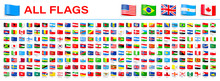 All World Flags - Vector Tag L...