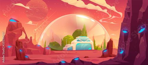 colonization of planet, space station, bunker Tapéta, Fotótapéta