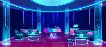 Night Club Or Bar Interior Des...