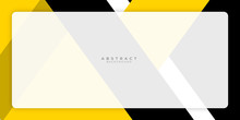 Yellow Black Presentation Background With Modern Business Line Concept And Text Space. Vector Illustration Design For Presentation, Banner, Cover, Web, Flyer, Card, Poster, Wallpaper, Texture, Slide.