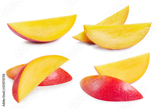 Mango isolated on white background Tapéta, Fotótapéta