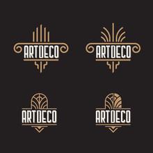 Art Deco Ornaments Logo Template