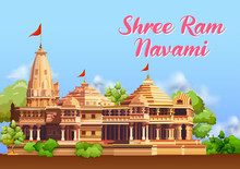Illustration Of Shree Ram Nava...