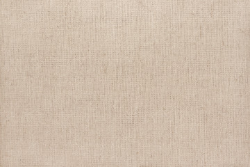 Brown cotton fabric texture background, seamless pattern of natural textile.