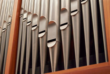 Pipe Organ, Pipe Part Close Up