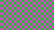 canvas print picture - Green & pink abstract checker image,Checker board images