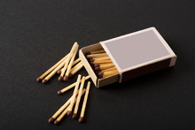 Open Box Of Matches, Scattered...